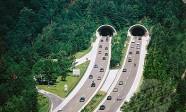 Zetzenberg Tunnel. Tauern Highway. Salzburg County. Austria